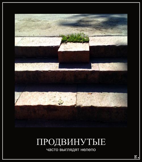 Фото Рустама Ниязова: Алматинский демотиватор